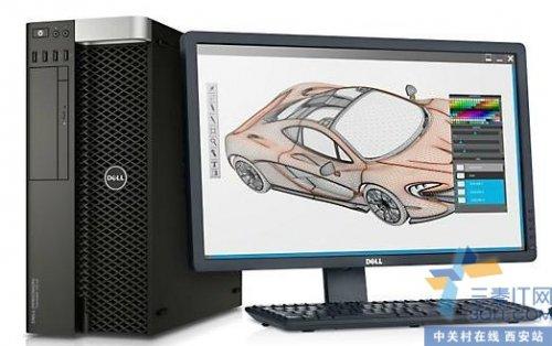 体积小巧、性能卓越,并且采用创新设计Dell Precision T7810 工作站