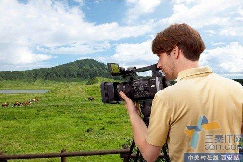 高清专业摄像 索尼AX1E西安报23999元