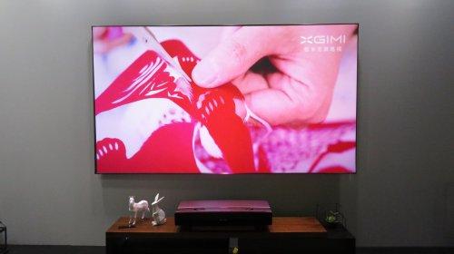 极米4K双色激光无屏电视T1西安定金5000