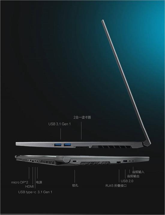 轻薄视界 机械革命GeForce RTX 20系列显卡游戏本京东预售