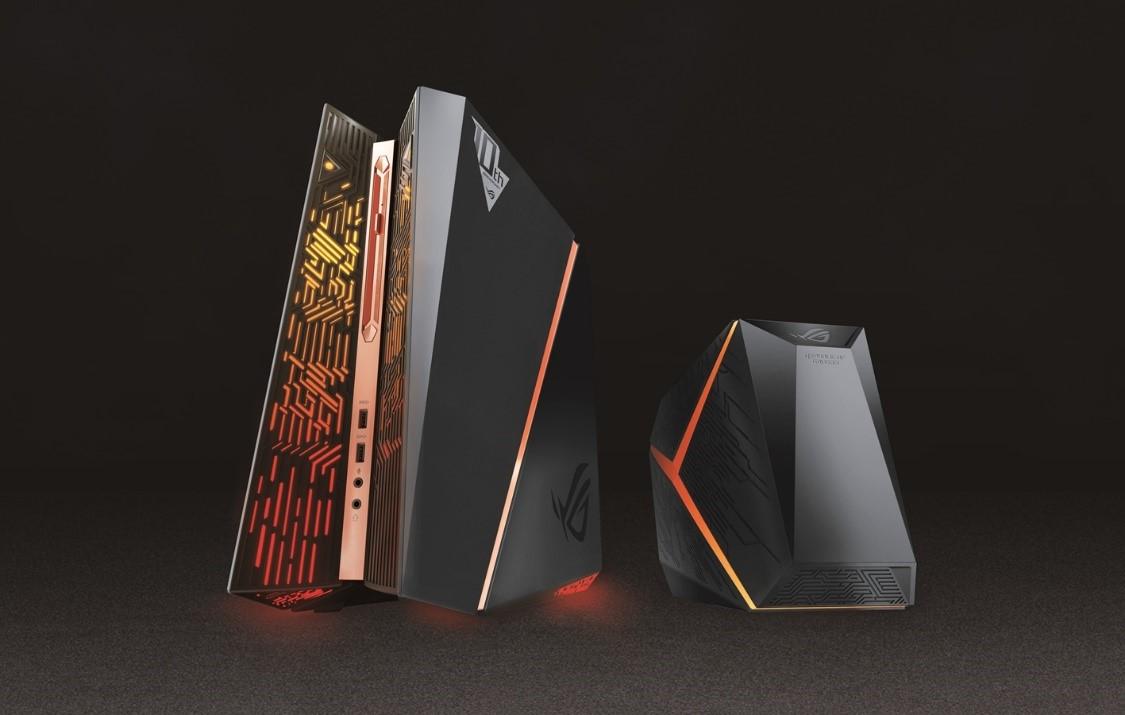 辉煌十年 ROG电竞桌面台式电脑亮相